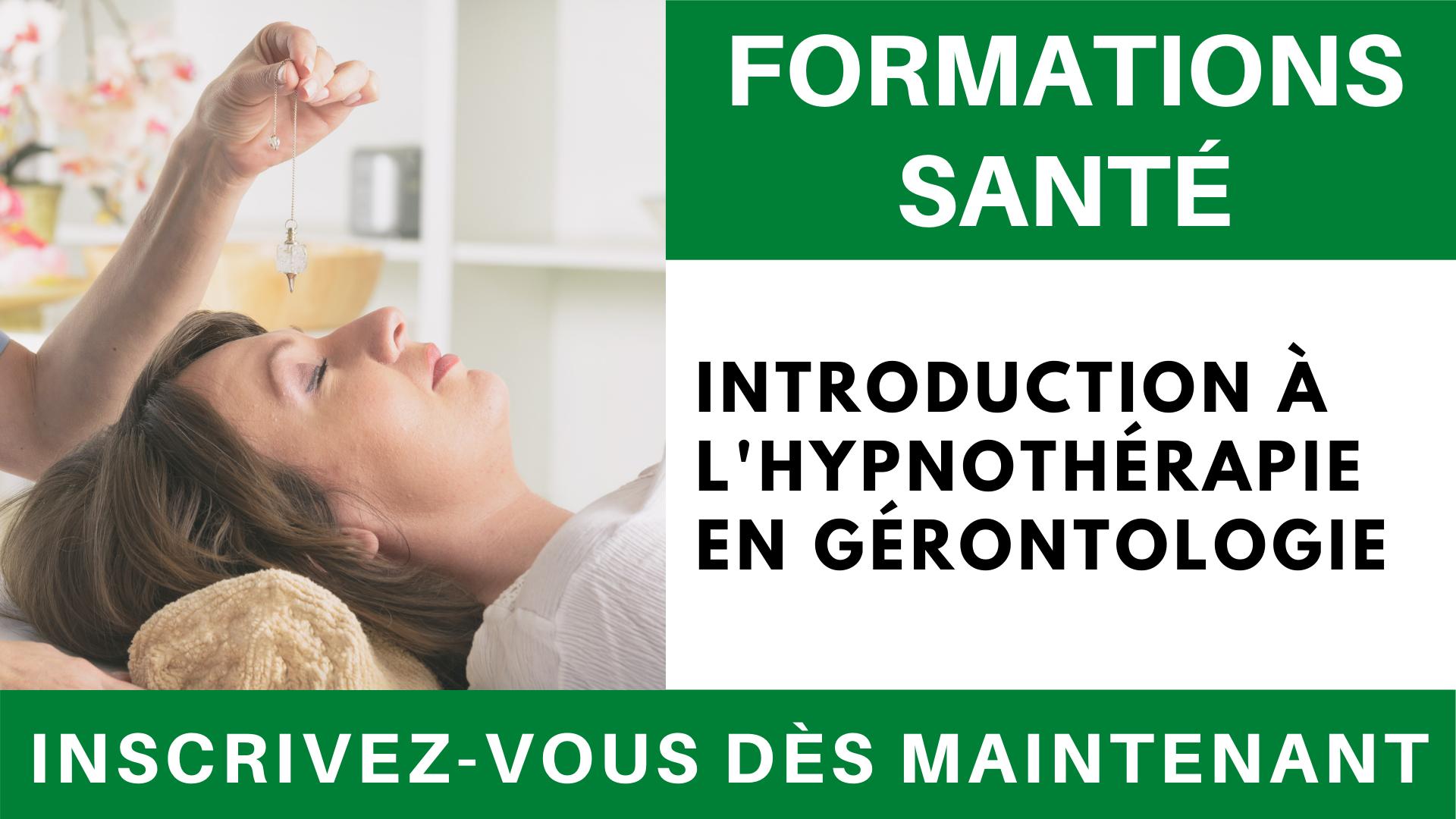 Formation santé _ Introduction à l'hypnothérapie en gérontologie