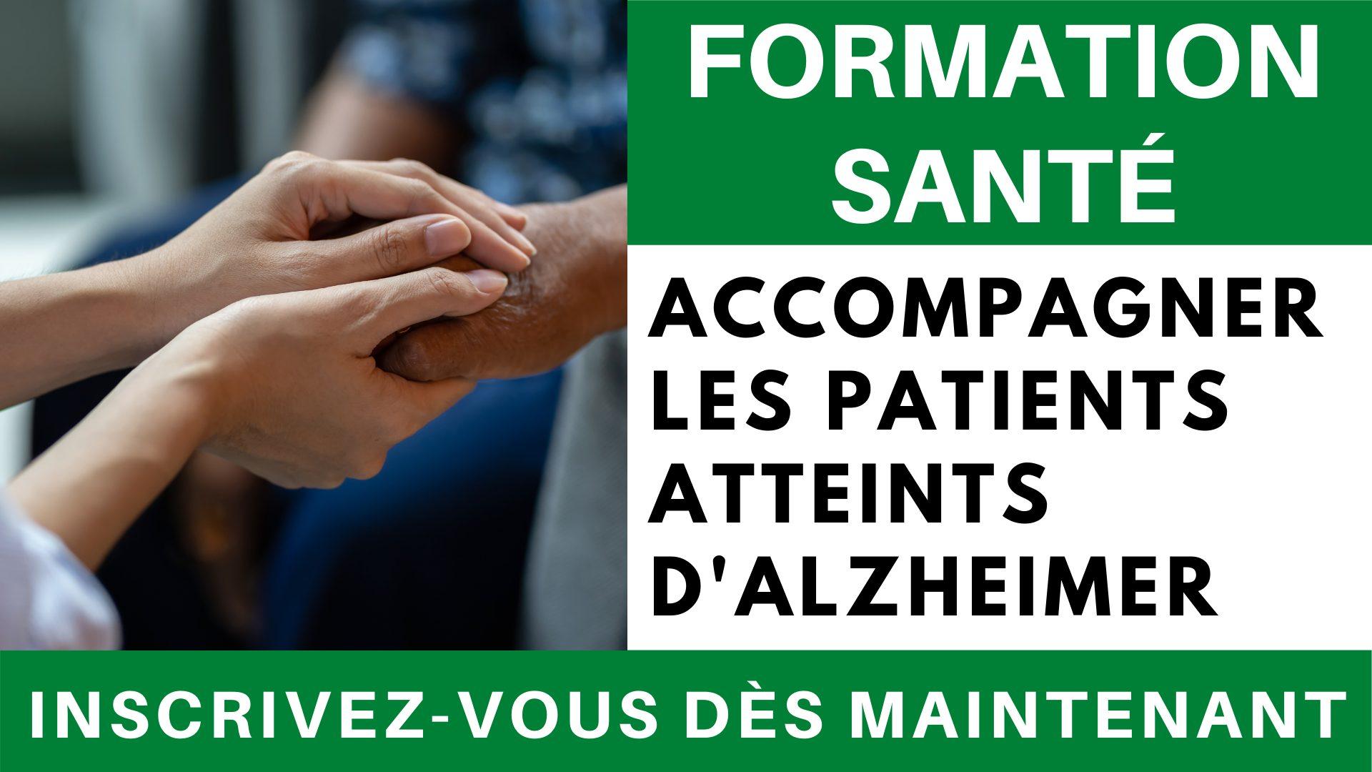 Formation sante - Accompagnement des patients atteints d'Alzheimer