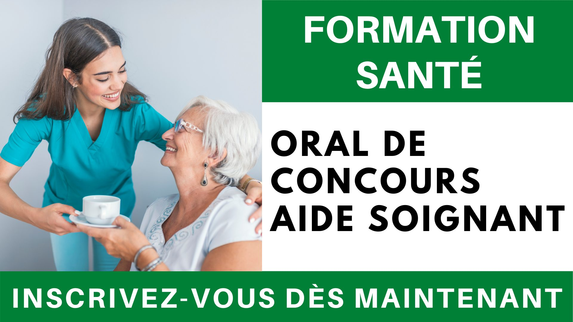 Formation sante - Oral concours AS